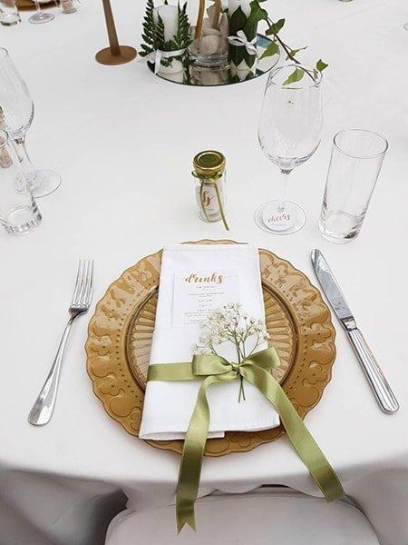 Karta pica na svadbi