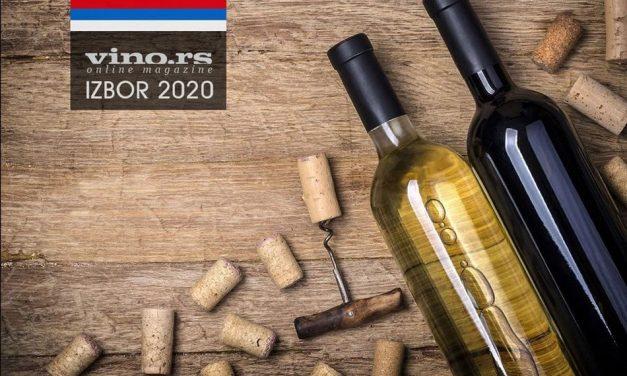 Najbolja vina Srbije 2020 – Proglašeni pobednici u svim kategorijama