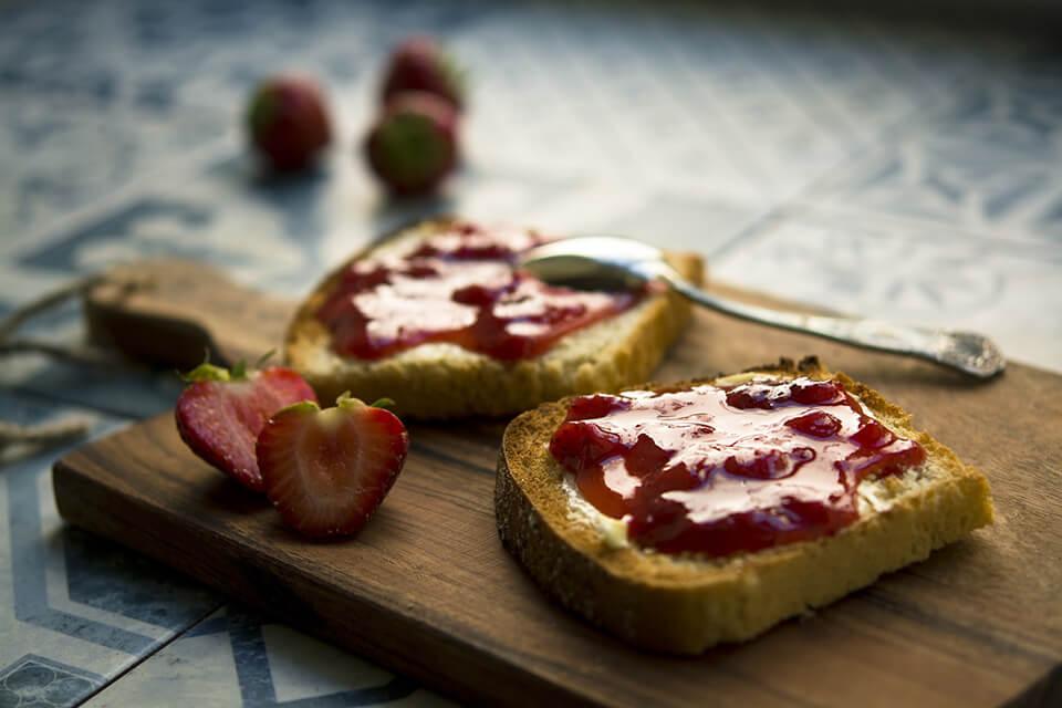 Domaci dzem od jagoda