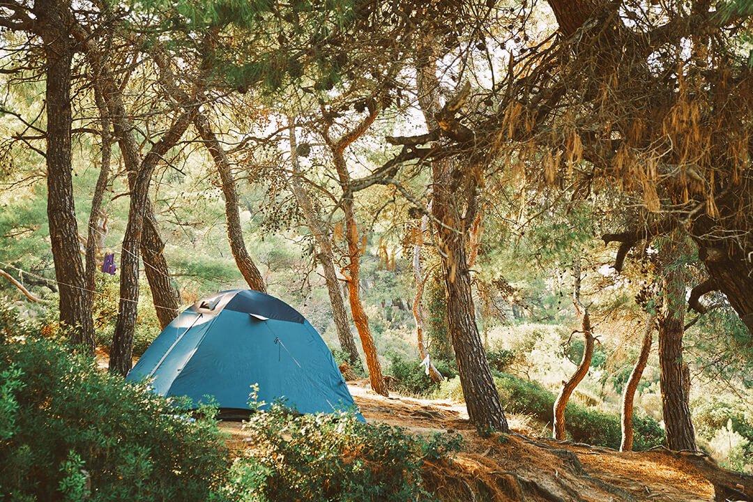 02 Razliciti vidovi smestaja u kampovima
